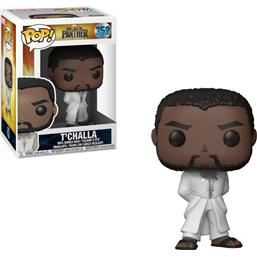 Black Panther: T'Challa Robe (White) POP! Movies Vinyl Figur (#352)