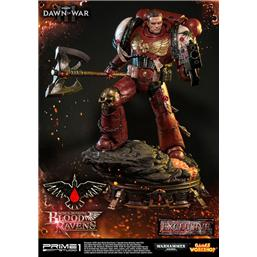 Warhammer: Warhammer 40K Dawn of War III Statue Space Marine Blood Ravens Deluxe Ver. 72 cm