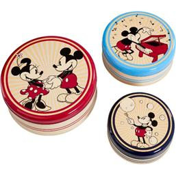 Disney Kitchen Storage Set Round Retro