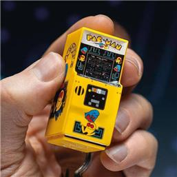 Pac-Man 3D Key Ring Arcade Machine 6 cm