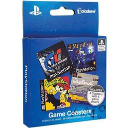 Sony Playstation: PlayStation Coaster 4-Pack Game Cover