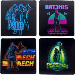 Ready Player One: Ready Player One Lenticular Coaster 4-Pack
