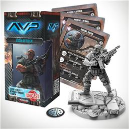 Predator: AvP Tabletop Game The Hunt Begins Expansion Pack USCM Officer