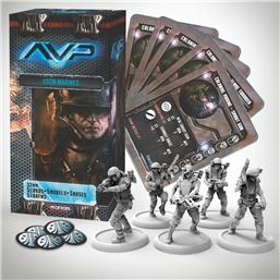 Predator: AvP Tabletop Game The Hunt Begins Expansion Pack USCM Marines
