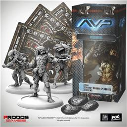 Predator: AvP Tabletop Game The Hunt Begins Expansion Pack Predators