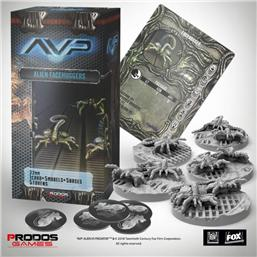 Predator: AvP Tabletop Game The Hunt Begins Expansion Pack Facehuggers