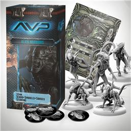 Predator: AvP Tabletop Game The Hunt Begins Expansion Pack Alien Warriors