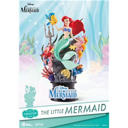 Den lille havfrue: The Little Mermaid D-Select PVC Diorama 15 cm