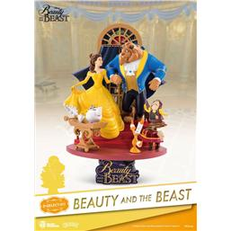Beauty and the Beast D-Select PVC Diorama 15 cm