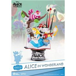 Disney: Alice in Wonderland D-Select PVC Diorama 15 cm