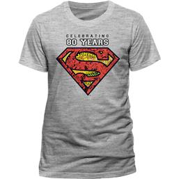 Superman T-Shirt Celebrating 80 Years