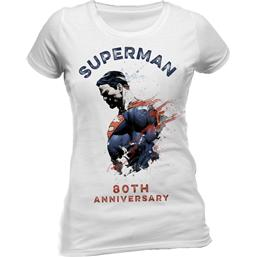 Superman Ladies T-Shirt 80th Anniversary