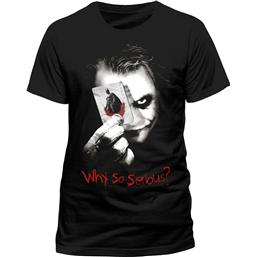 Batman: Batman The Dark Knight T-Shirt Why So Serious