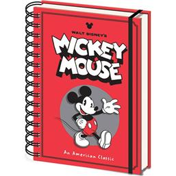Diverse: Mickey Mouse Wiro Notebook A5 Wave