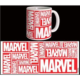 Marvel Comics Mug Multiple Logo