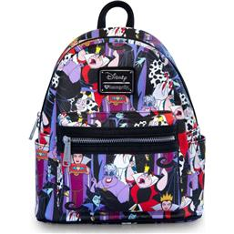 Disney: Disney by Loungefly Backpack Villains AOP