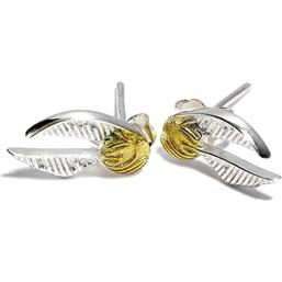 Harry Potter Earrings Golden Snitch (silver plated)