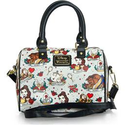Skønheden og Udyret: Disney by Loungefly Tote Bag Belle Tattoo AOP (Beauty and the Beast)