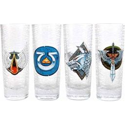 Warhammer Shotglass 4-Pack Chapter