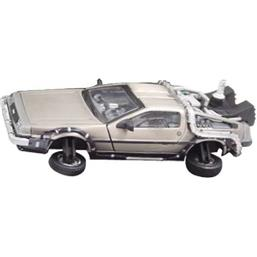 Back To The Future: Part 2 - Deluxe Flight DeLorean 1:43 replica