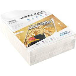 Diverse: Ultimate Guard Comic Backing Boards Golden Size (100)