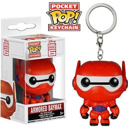 Big Hero 6: Armored Baymax Pocket POP! Vinyl Nøglering