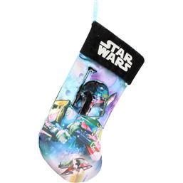 Star Wars: Star Wars Christmas Stocking Boba Fett 45 cm