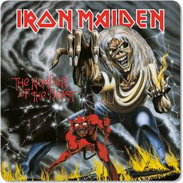 Iron Maiden: Iron Maiden Coaster Pack The Number of the Beast 6-pack