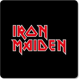 Iron Maiden Coaster Pack Logo 6-Pack