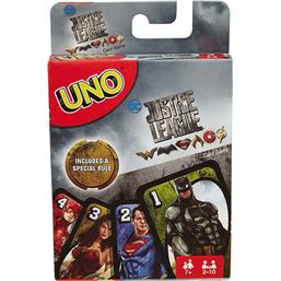 Justice League: Justice League UNO Card Game *English Version*