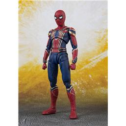 Avengers: Avengers Infinity War S.H. Figuarts Action Figure Iron Spider & Tamashii Stage 14 cm
