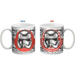 Star Wars Heat Change Mug Army & Resistance Logo