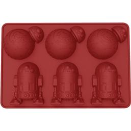 Star Wars: Star Wars Ice Cube Tray BB-8 & R2-D2