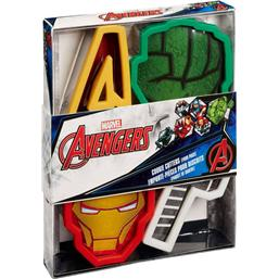 Avengers: Marvel Cookie Cutter 4-Pack Avengers Icons