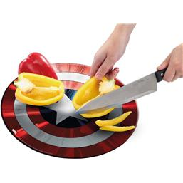 Marvel: Marvel Cutting Board Captain America's Shield (Classic)