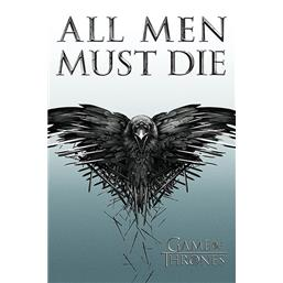 Game Of Thrones: All Men Must Die teaser plakat