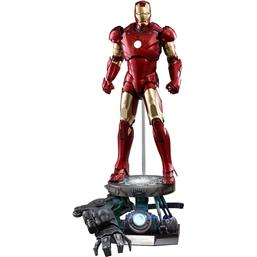 Iron Man QS Series Action Figure 1/4 Iron Man Mark III Deluxe Version 48 cm