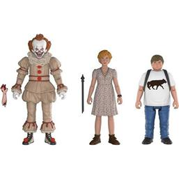 It: Stephen King's It 2017 Action Figures 3-Pack Pennywise, Ben, Beverly 10 cm