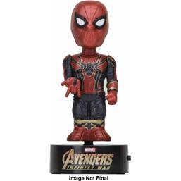 Avengers Infinity War Body Knocker Bobble-Figure Spider-Man 16 cm