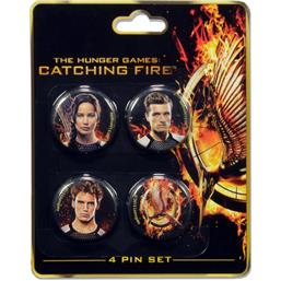 Hunger Games: Catching Fire - Victors badgesæt