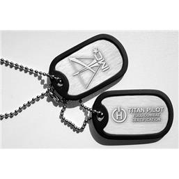 Titanfall: Combat Certified Pilot dog tags