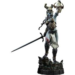Court of the Dead: Court of the Dead Premium Format Figure Kier Deaths Warbringer 55 cm