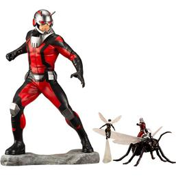 Marvel: Marvel Comics Avengers Series ARTFX+ PVC Statue 1/10 Astonishing Ant-Man & Wasp 19 cm