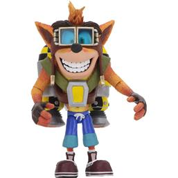 Crash Bandicoot: Crash Bandicoot Deluxe Action Figure Crash with Jetpack 14 cm