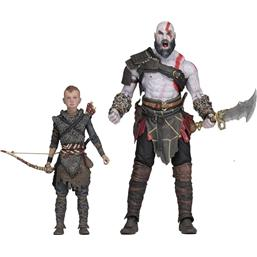 God Of War: God of War (2018) Ultimate Action Figure 2-Pack Kratos & Atreus 13-18 cm