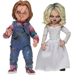 Child's Play: Bride of Chucky Ultimate Action Figure 2-Pack Chucky & Tiffany 10 cm