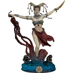 Court of the Dead: Court of the Dead PVC Statue Gethsemoni - Queens Conjuring 25 cm