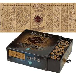 Harry Potter: Harry Potter Jigsaw Puzzle The Marauder's Map Cover