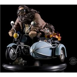 Harry Potter: Harry Potter Q-Fig MAX Diorama Harry Potter & Rubeus Hagrid 15 cm