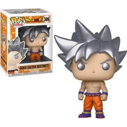 Dragonball Z: Goku (Ultra Instinct) POP! Animation Vinyl Figur (#386)
